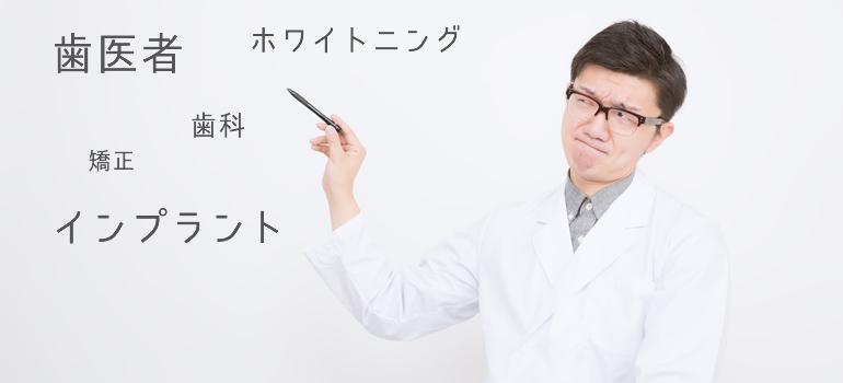 歯医者のキーワード選定